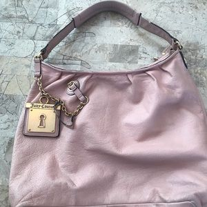 Juicy couture pink leather purse project piece